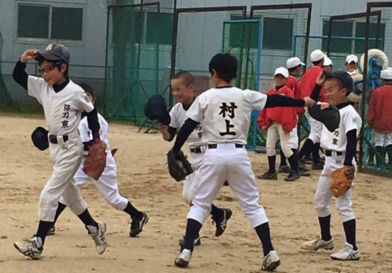 弥刀東ボーイズ小学部練習風景